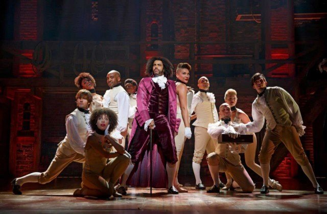 The cast of Broadway's historical hip-hop musical, 'Hamilton'