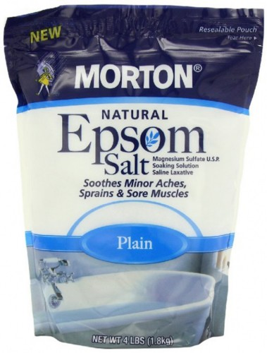 Morton Epsom salt for bath