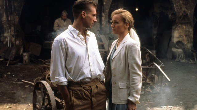 Ralph Fiennes and Kristen Scott Thomas in 'The English Patient'
