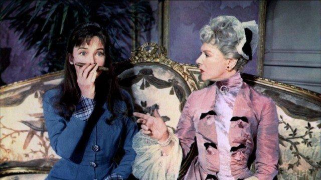 Leslie Caron stars in the Oscar-winning film 'Gigi'