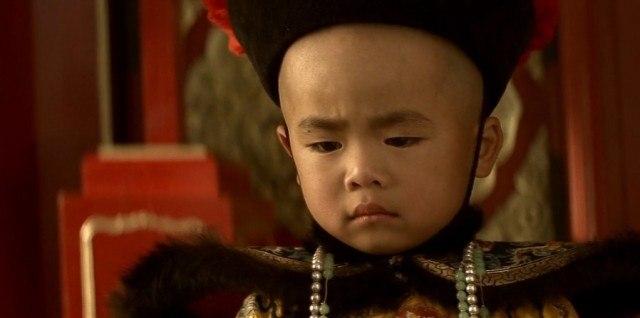 A scene from Bernardo Bertolucci's Oscar-winning film 'The Last Emperor'