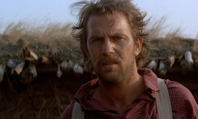 Kevin Costner in his Oscar-winning film 'Dances With Wolves'