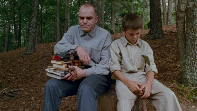 Billy Bob Thornton and Lucas Black in 'Sling Blade'