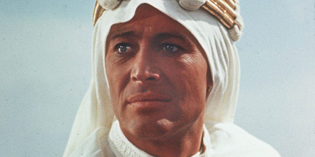 Peter O'Toole in Lawrence of Arabia | Columbia Pictures