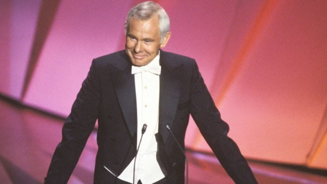 Johnny Carson hosted the Academy Awards five times.