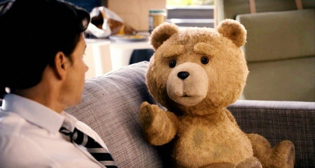 Mark Wahlberg and Seth MacFarlane star in 'Ted'