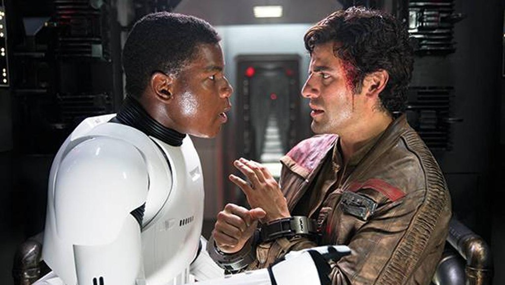 Finn and Poe - Star Wars: The Force Awakens