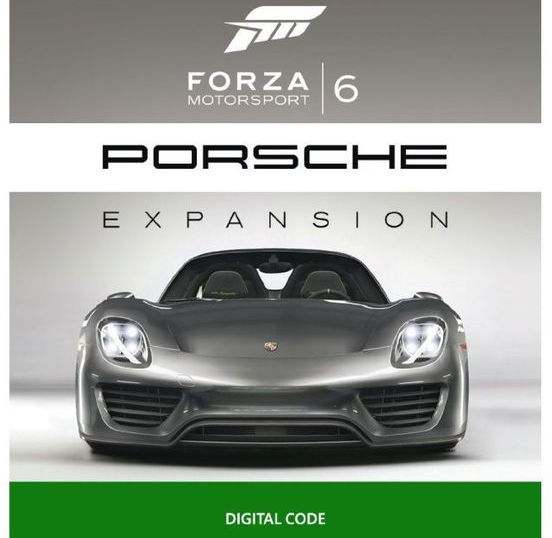 Forza 6 Porsche expansion leak by amazon