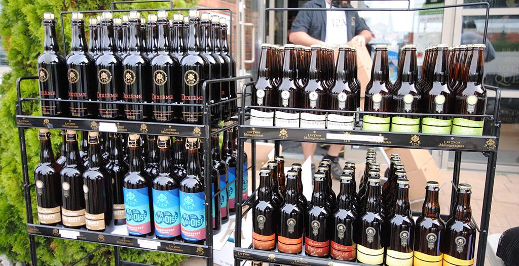 Les Trois Mousquetaires brewery lineup