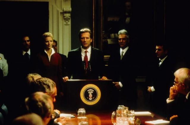 Jeff Bridges as President Jackson Evans in 'The Contender'