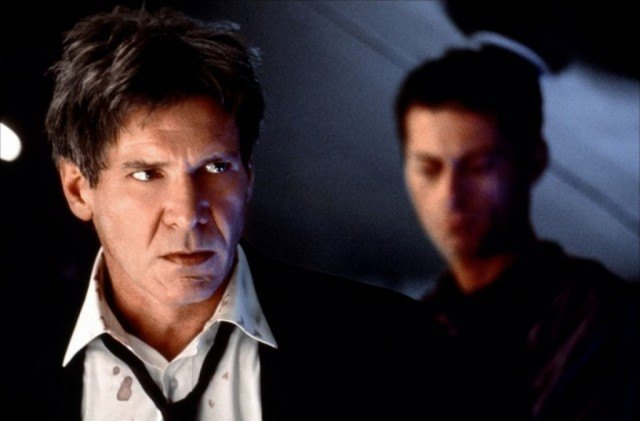 Harrison Ford as President James Marshall in 'Air Force One'