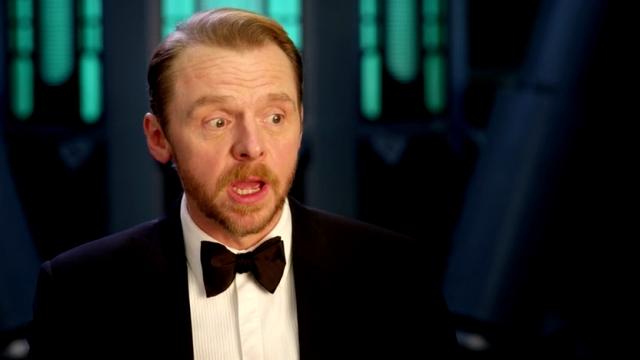 Simon Pegg - Mission Impossible