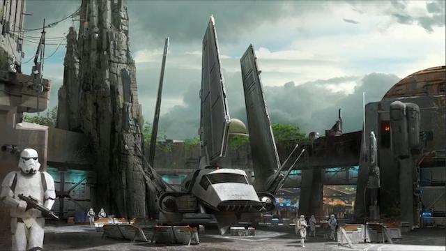 Star Wars - Disneyland Expansion Concept Art
