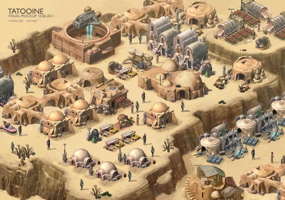 Star Wars Outpost, canceled mobile game LucasArts