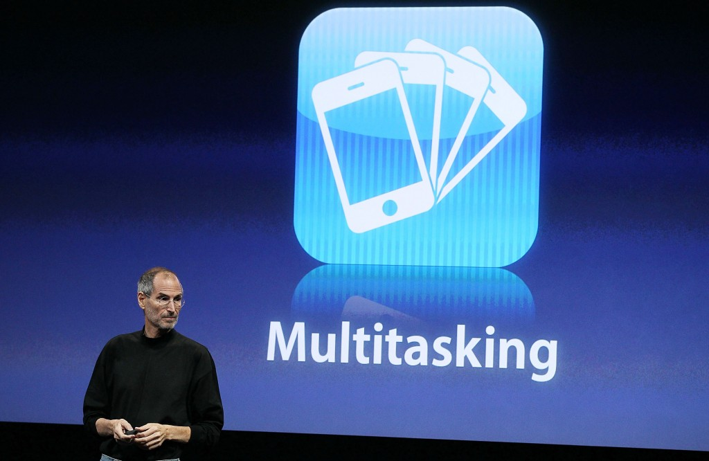 steve jobs multitasking