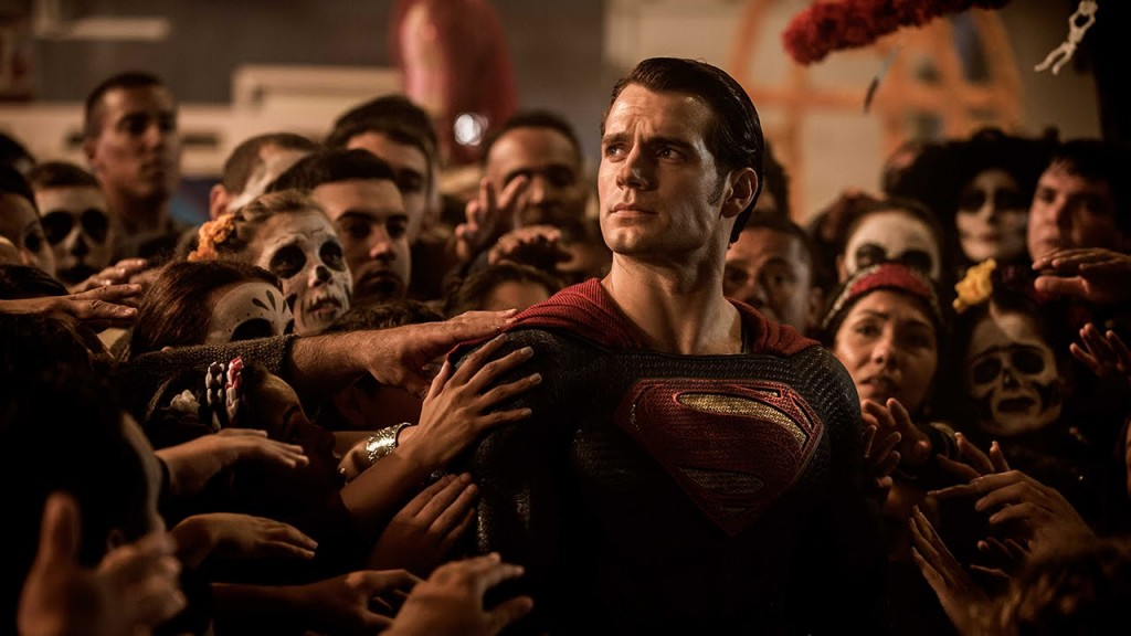 People worshiping Superman