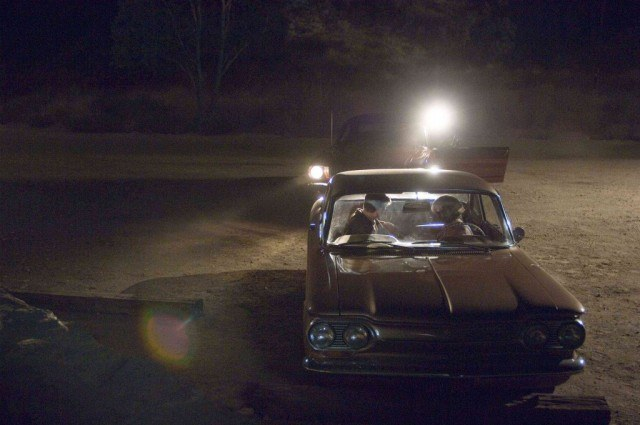An ominous shot from David Fincher's true-crime thriller 'Zodiac'