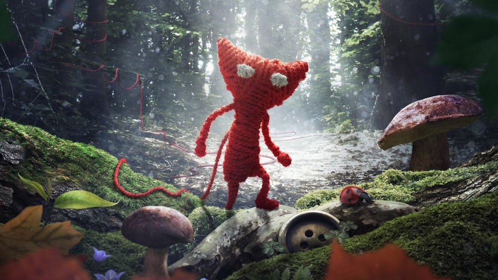 Unravel for Xbox One and PlayStation 4, starring Yarny