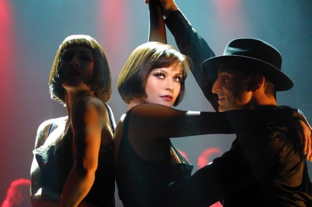 Catherine Zeta-Jones in the Oscar-winning film 'Chicago'