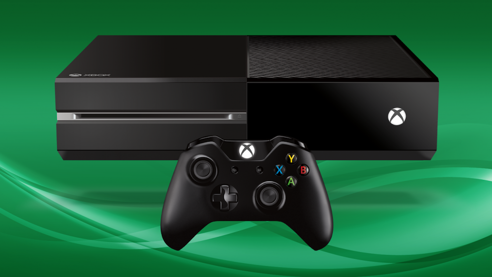 Microsoft Xbox One and controller