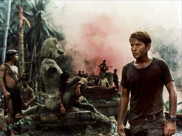 Martin Sheen stars in Francis Ford Coppola's Vietnam War drama 'Apocalypse Now'