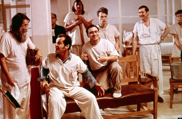 Jack Nicholson leads a stellar ensemble in Miloš Forman's stirring drama, 'One Flew Over the Cuckoo's Nest'