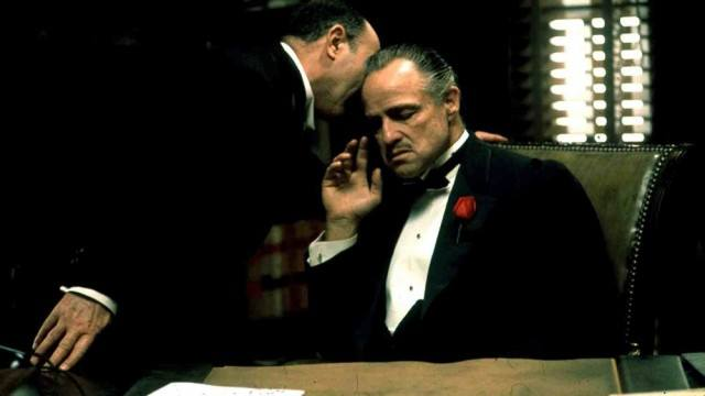 Marlon Brando stars as Don Vito Corleone in Francis Ford Coppola's 'The Godfather.'