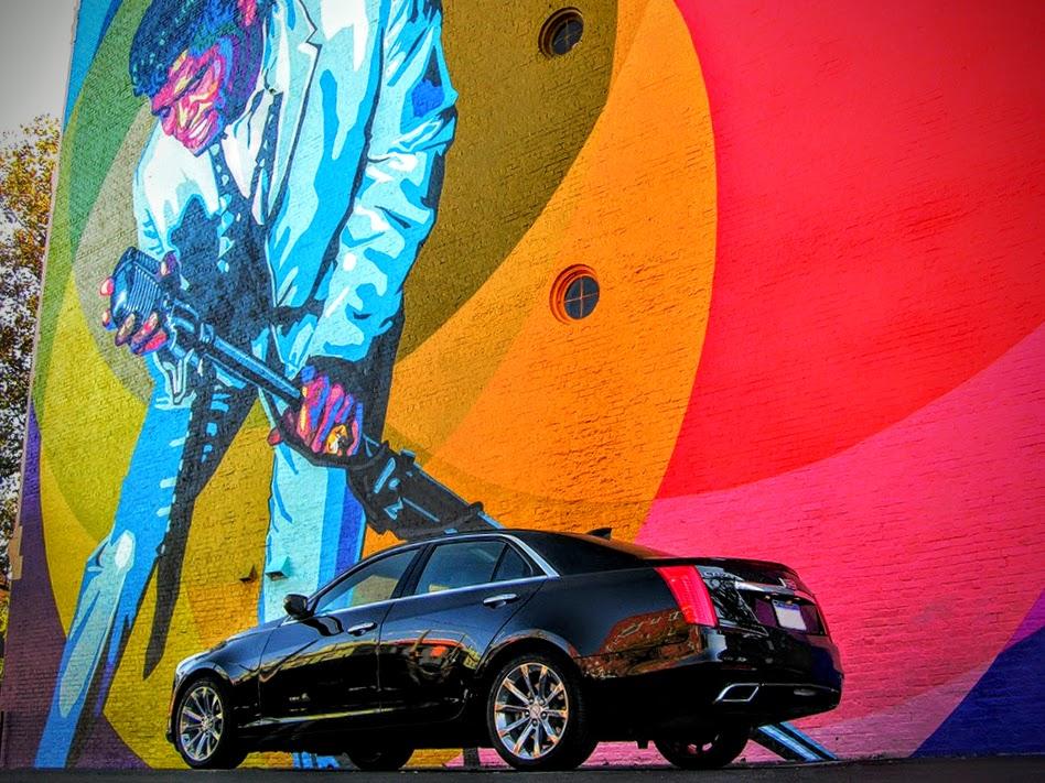 Black Cadillac CTS