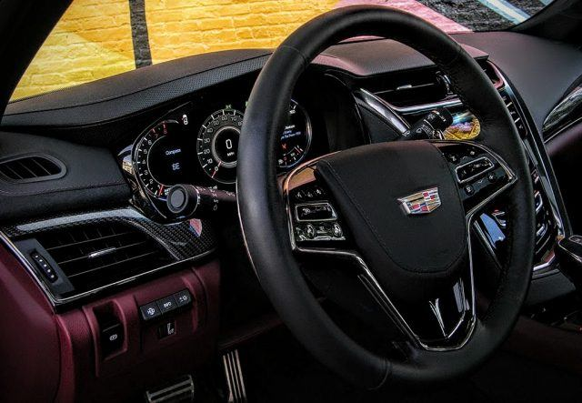 Cadillac steering wheel | Micah Wright/Autos Cheat Sheet