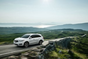 2017 Acura MDX and MDX Sport Hybrid Touch Down in New York