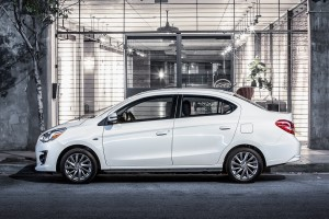 2017 Mitsubishi Mirage G4: Slightly More for Your 4-Door