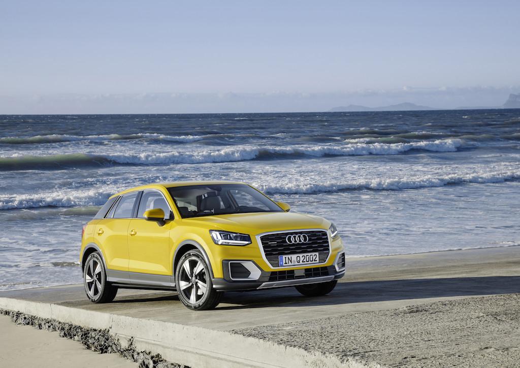 Audi Q2 Static photo, Colour: Vegas Yellow