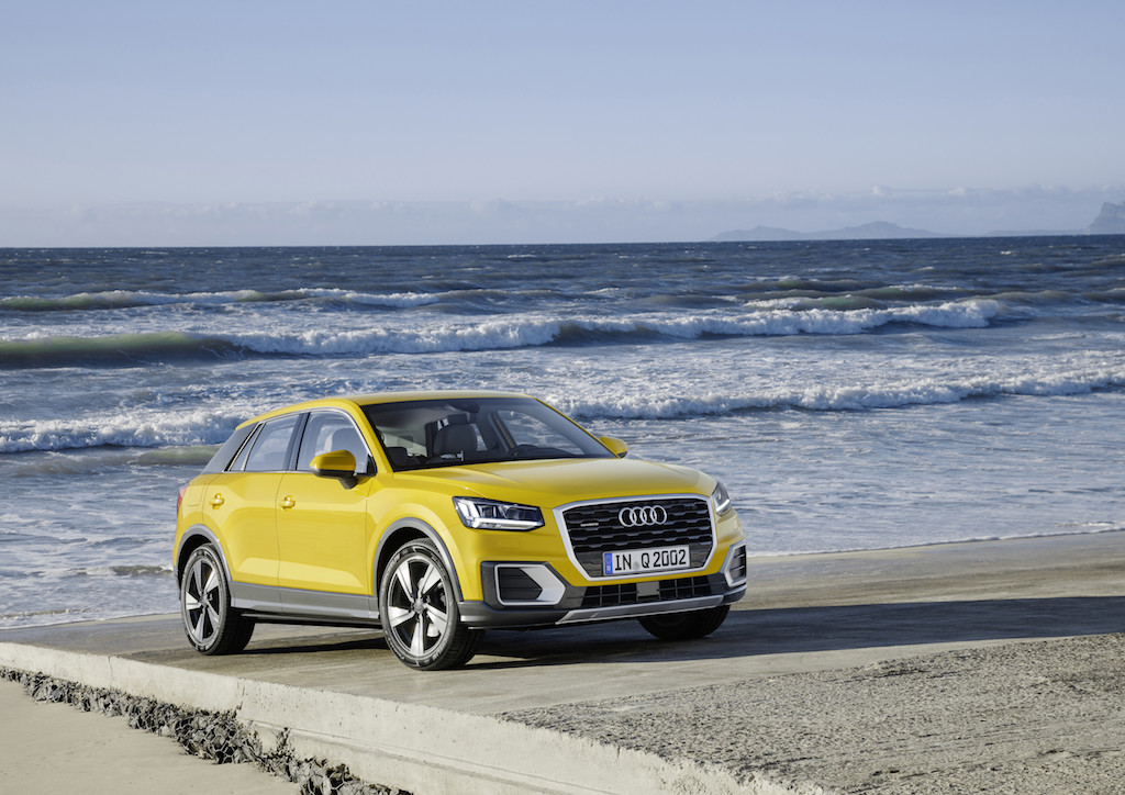 Audi Q2 Static photo, Colour: Vegas Yellow