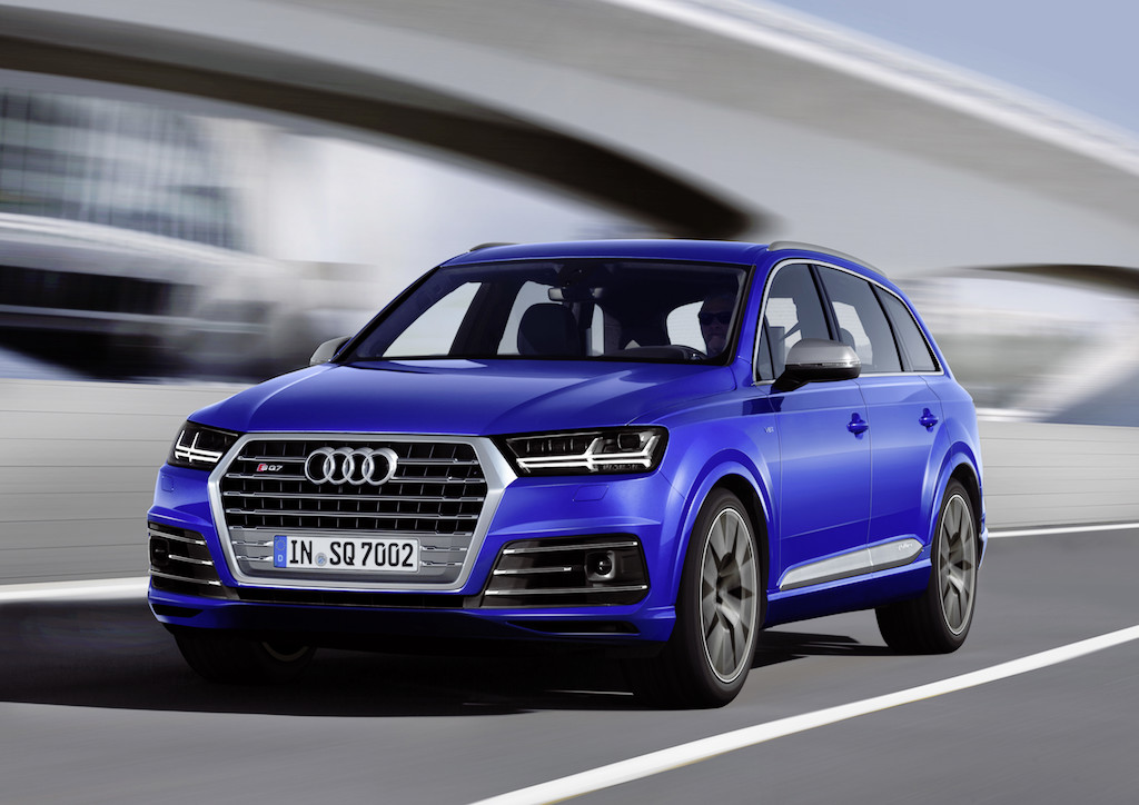Audi SQ7, Colour: Sepang Blue