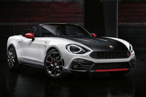 Fiat 124 Abarth Roadster Revealed, Stinger and All
