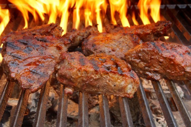 spice-rubbed grilled meat