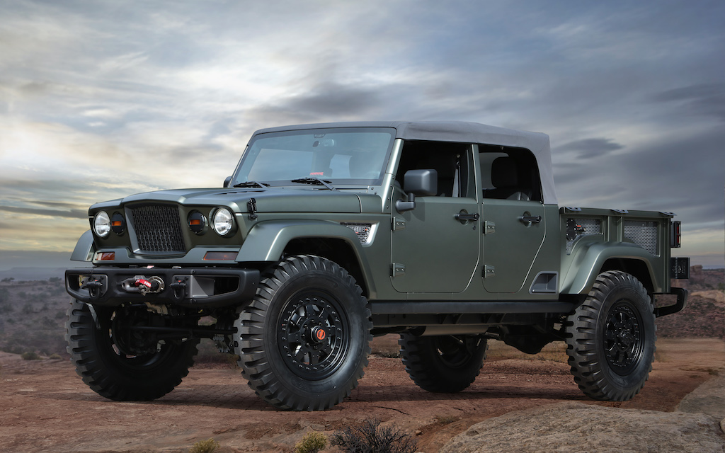 Jeep Crew Chief 715 Concept | Source: Jeep