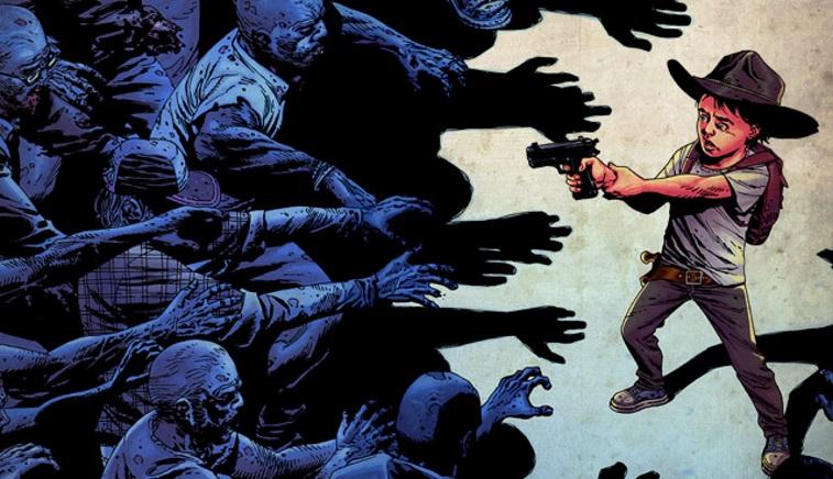 Carl - The Walking Dead - graphic novel