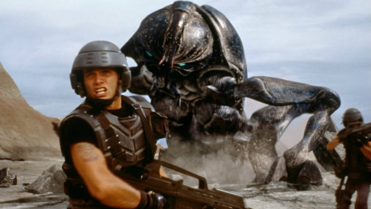 Casper Van Dien in Starship Troopers