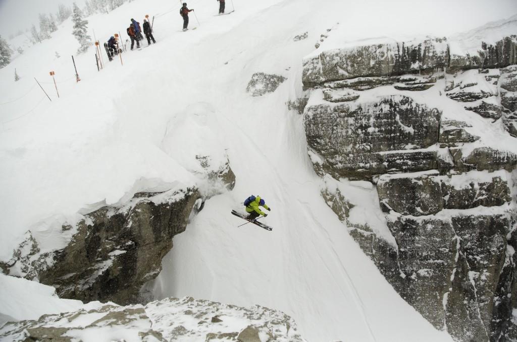 Skiers at Jackson Hole