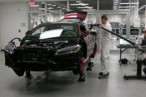 Check Out the Plant Where Acura is Building its New NSX