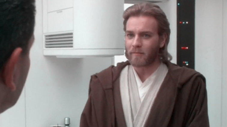 Ewan McGregor in Star Wars: Attack of the Clones