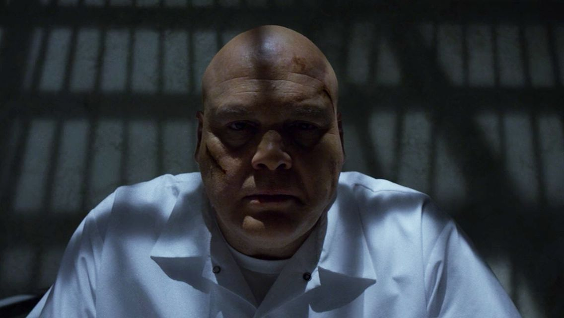 Vincent D'Onofrio as Wilson Fisk in Daredevil
