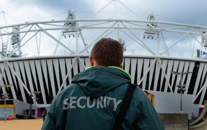 Security guard | Michael Regan/Getty Images