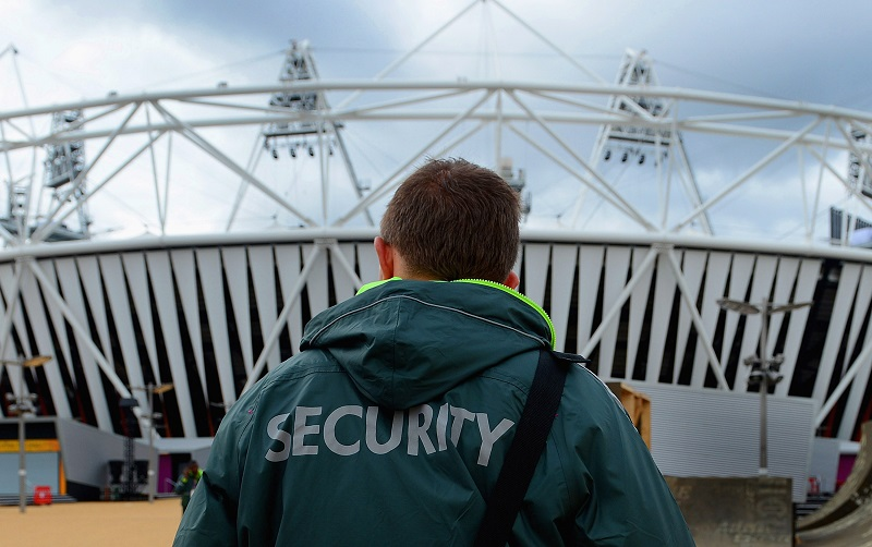 Security guard   Michael Regan/Getty Images