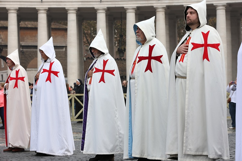 Templars at the Vatican