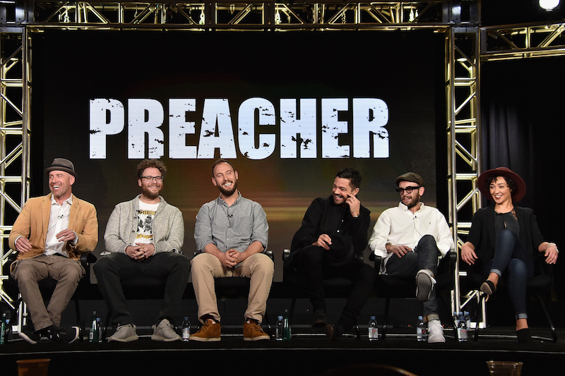 Creators and cast of Preacher