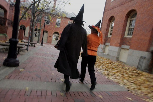 Salem Massachussets takes Halloween very seriously