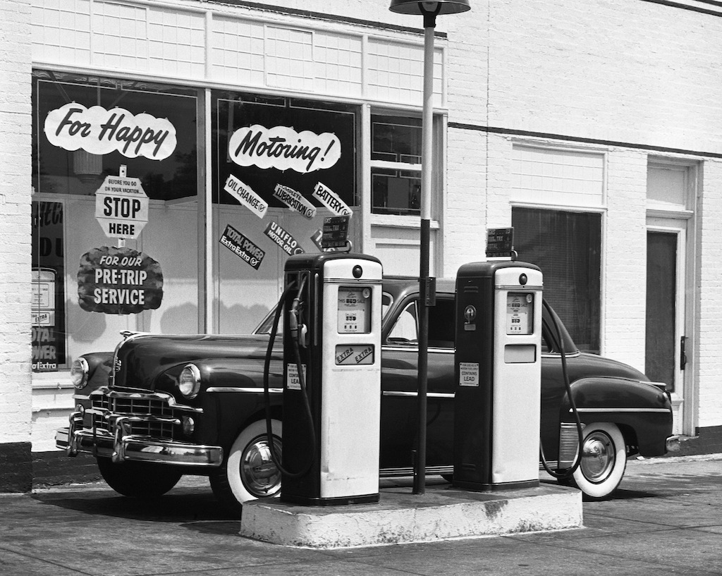 Gas station from the past