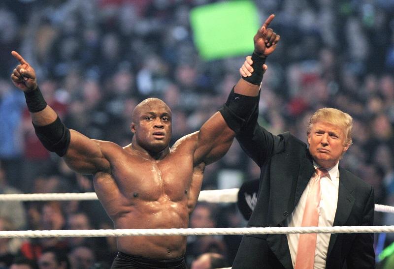 Donald Trump at Wrestlemania